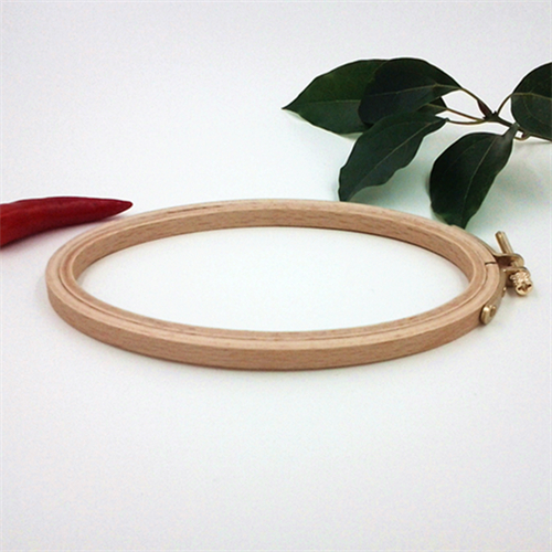 5 inch wooden embroidery rings or hoops