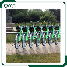 2017 bike sharing system public rental city bicycle with bluetooth smart lock system