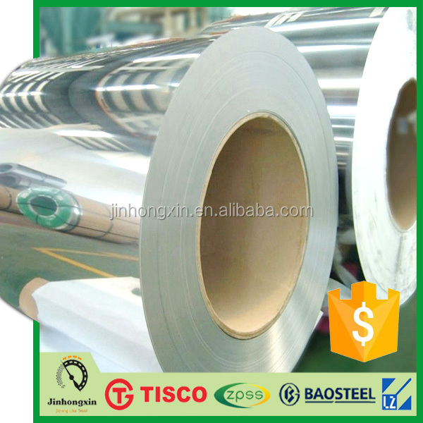 0.1mm AISI SUS SS 201 202 301 304 304L 309S 316 409 410S 420 430 440 2B BA Stainless Steel Narrow Strip Coil