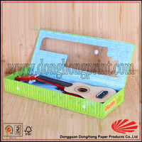 Guitar shape gift box packaging guitar boxes from dongguan factory printing (DH2046#)