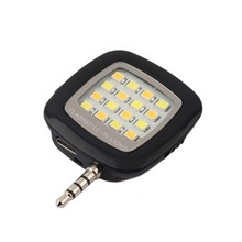 New Product Portable Phone LED Light Spotlight Selfie Mini 16 LED Flash Light Pocket Fill-in for iPhone Sumsung