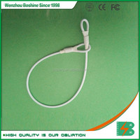 Boshine supermarket shop retail security plastic EAS double loops lanyard