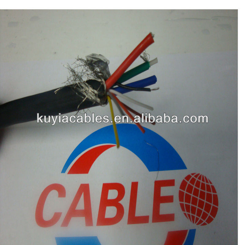 10M/30ft Double shielding HD15pin 3+6 LCD VGA Cable