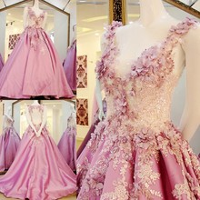 RP43220 Real light purple keyhole latest dress designs photos v neck evening prom dress Crystal Taffeta Evening Dress
