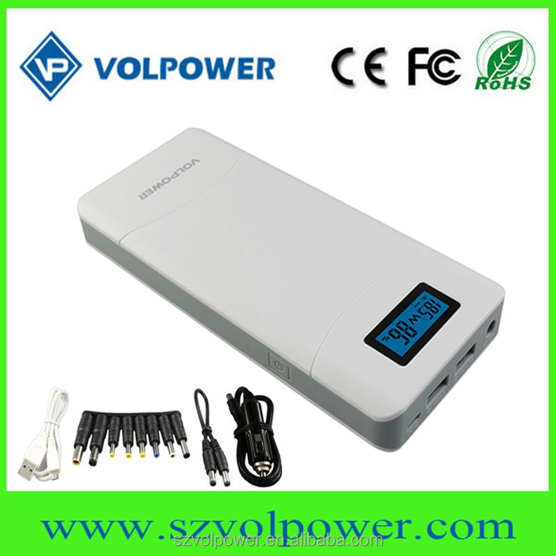 2017 hot products volpower car jump starter portable power bank 15000mah 20000mah 12V to 24V emergency power