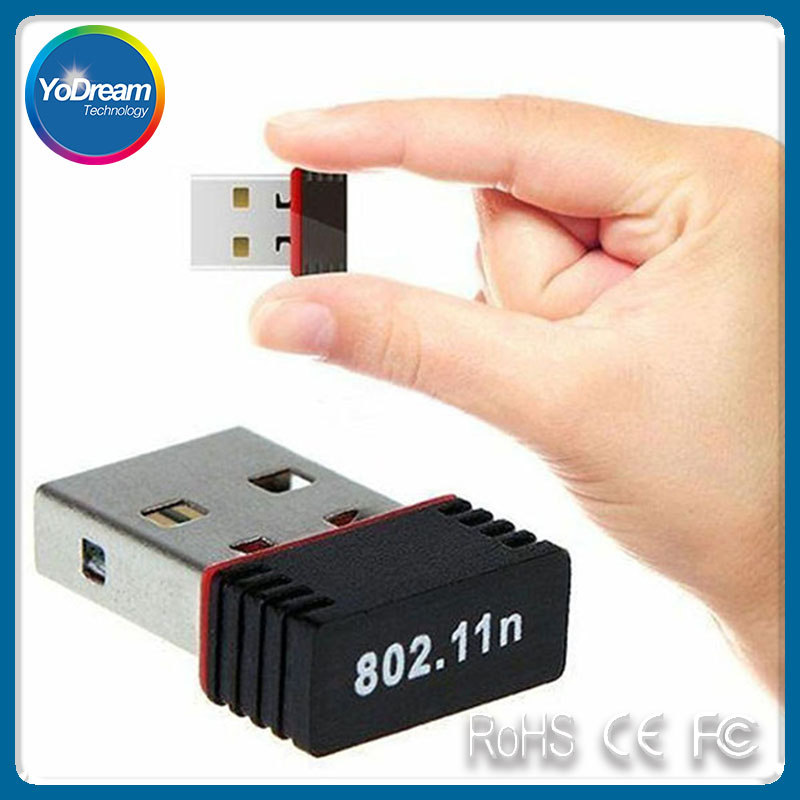 150mbps Mini Wireless USB Wifi Adapter Lan Card 802.11n/g/b Wlan PC Wifi Receiver External Wi-Fi Dongle Antenna Wi Fi For Laptop