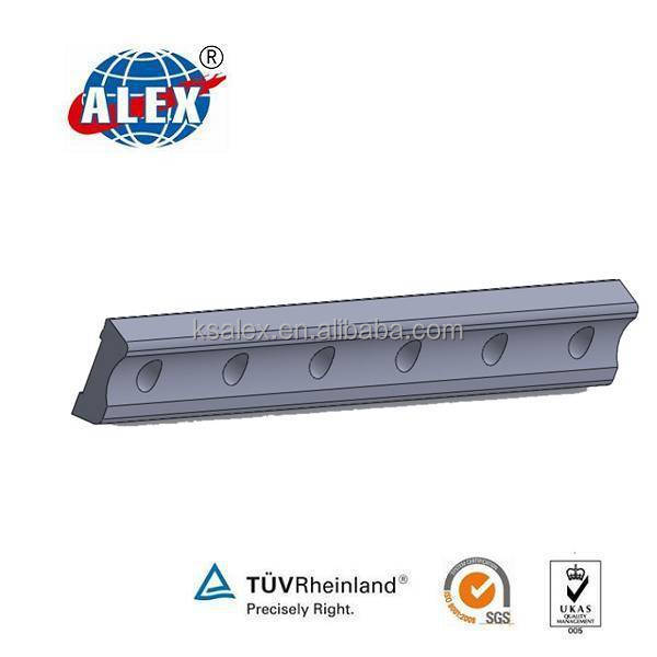 China manufacturer supply joint bar for rail connecting, UIC standard Fishplate, Steel rail track joint