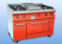 4 Burner Cooker (With Oven
