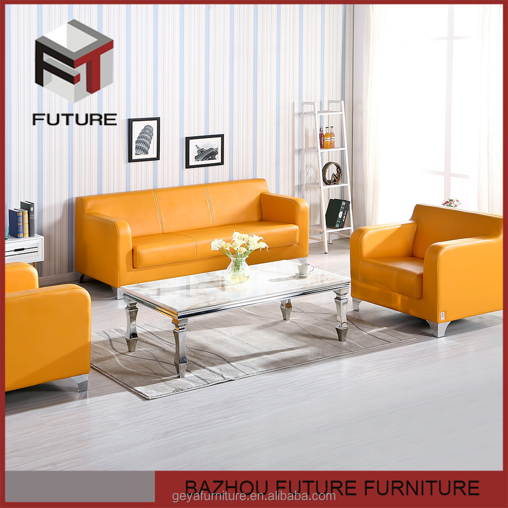 living room furniture bright colored leather sofa sets for adults