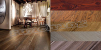 solid oak wood flooring hdf waterproof wood laminate flooring