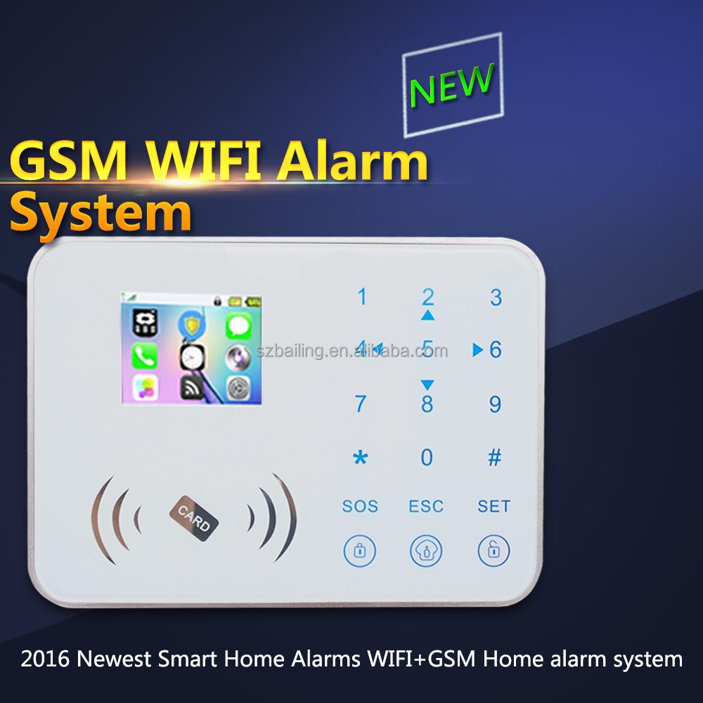 Gsm wireless home burglar security alarm system best wifi for Best buy burglar alarms