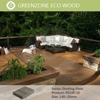 easy installation high quality wpc decking wood plastic floor boards