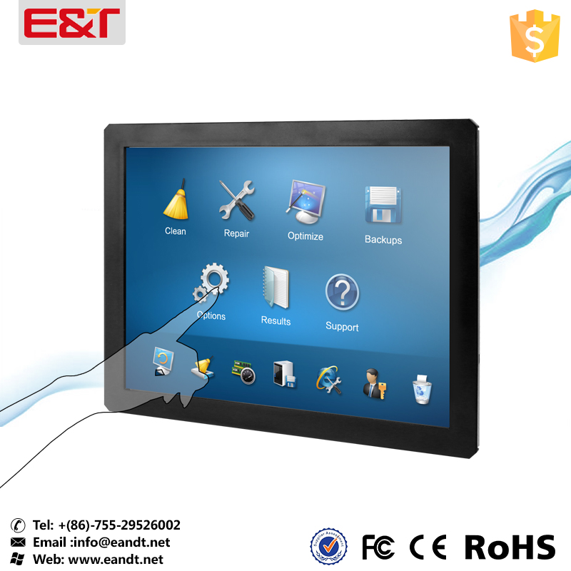 10 Inch small size outdoor readable waterproof touch screen monitor for kiosk