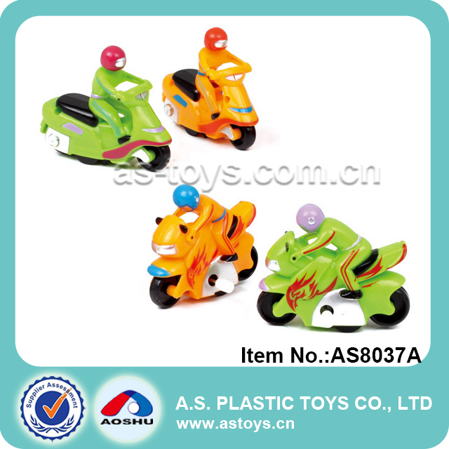 Promotion plastic mini wind up motorcycle toy small toy motorcycle for baby