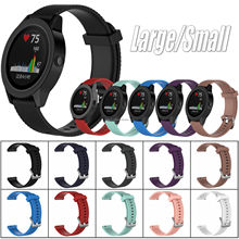 Soft Silicone Watch Band Strap Bracelet For Garmin Vivomove & HR & Vivoactive 3