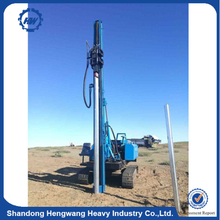 Solar System Construction Hydraulic Hammer Pile Driving Machine