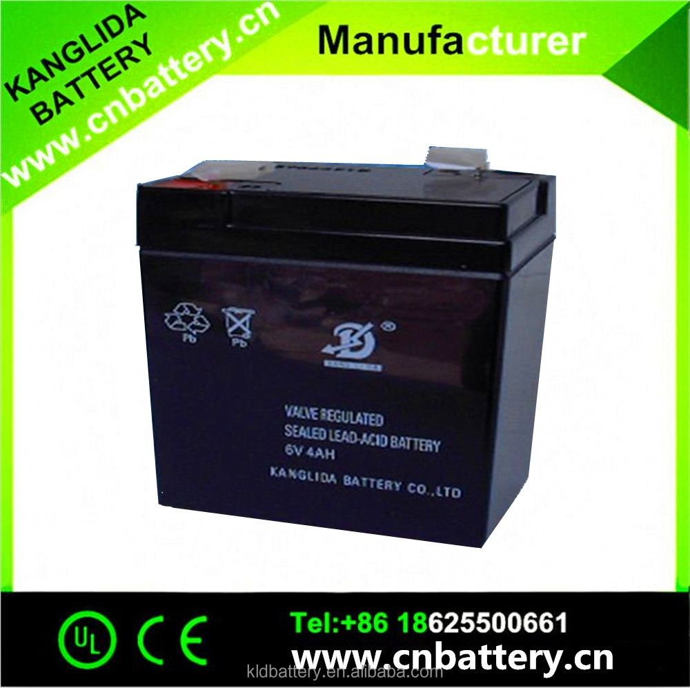 High Performance 6V 4.2AH Sealed Lead Acid Battery