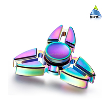 High quality permainan aluminum alloy metal digit finger hand fidget spinner