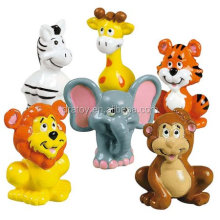 Zoo Animals Tiger Lion Elephant Monkey Action Figure Toys plastic figurine