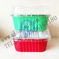 Customized Disposable aluminum foil food storage container
