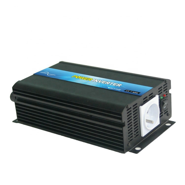 Portable 1000 watt 12v to 110v pure <strong>sine</strong> <strong>wave</strong> home solar power inverter 1KW