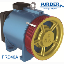 load 1250 kg pulley 400mm european gearless elevator motor