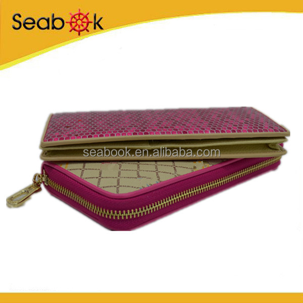 New products top quality lady purse pu leather brand women wallets wholesale
