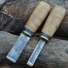 Doshower knife set of tactical knife with damascus hunting knife