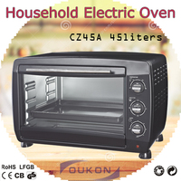 CZ45A black electric baking oven price,commercial oven toaster,portable electric oven