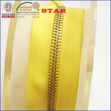 Zip chain manufacturer provide metal zipper long chain for bargain buy
