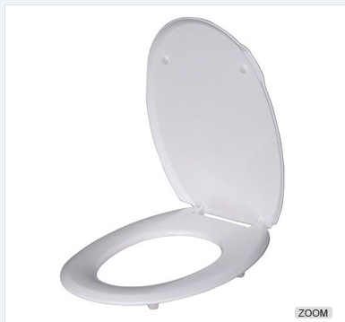 Sanitary ware plastic soft closing toilet seat cover