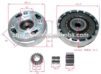 CD90 Clutch Assy for Motorcycle