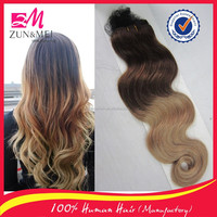 2016 New arrival human hair weave wholesale colored brazilian hair weave in stock accept the paypal