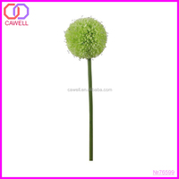 decoration single green artificial onion