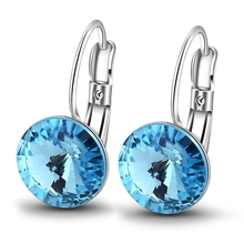 28457 Xuping Crystals from Swarovski new latest gold <strong>earring</strong> designs, <strong>earring</strong> factory china