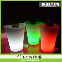 2014 Hot Sale Led Bucket Ice With Custom Logo Printing