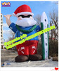 HOT!!! 2015 giant cartoon character santa Claus inflatable advertising-W1166
