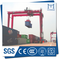 Container handling use rubber tyre gantry crane specification