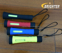 Brighter 1W+4COB Led Plastic Led Hand Light with Hand Strap