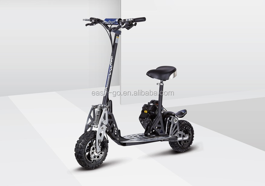 2017 easy-go good quality cheap 71cc foldable gas scooter pass CE certificate hot on sale