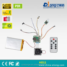 1080P micro full hd extreme long standby mini hd camera module HD-11