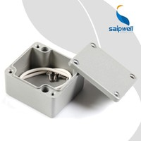 FA18 Saip/Saipwell High Quality Electrical Junction Box Aluminum Tool Boxes IP66 Waterproof Terminal Block Junction Box