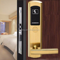 Stainless steel RF card smart lock for Hotel satisfy solution