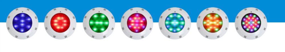 swimming pool underwater LED lighting