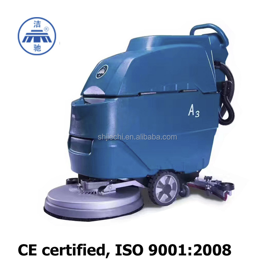 CE Certified Walk Behind Floor Scrubber A3 Floor Cleaning Machines