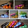 QQFactory led flashing pet dog collars & usb rechargeable flashing dog collars