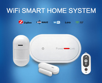 App control 32 Wireless Zones home security system wifi gsm alarm system