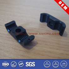 Factory supply black plastic double pipe clamp