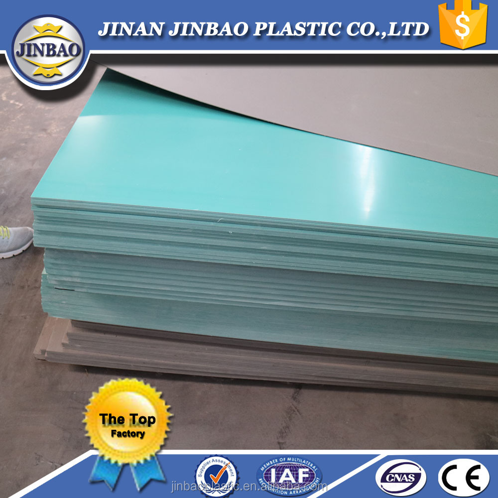 "top quality best price 4ftx8ft 1/2"" 1/4"" color lightweight rigid plastic sheets"