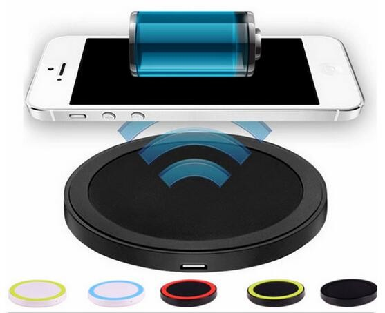 High quality Fast charging ultra slim LED QI wireless cell phone charger